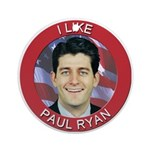I Like Paul Ryan Ornament (Round)