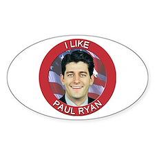 I Like Paul Ryan Decal