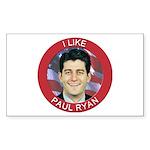 I Like Paul Ryan Sticker (Rectangle)