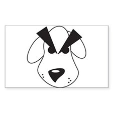 Peeved Puppy Decal