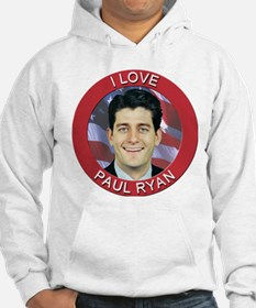 I Love Paul Ryan Jumper Hoody