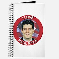 I Love Paul Ryan Journal