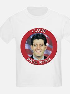 I Love Paul Ryan T-Shirt