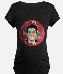 I Love Paul Ryan T-Shirt
