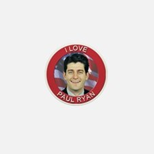 I Love Paul Ryan Mini Button