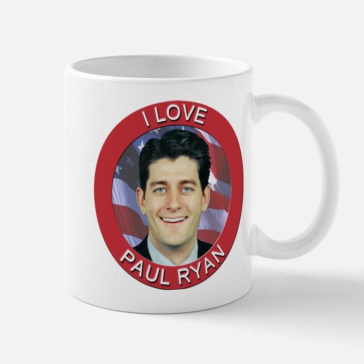 I Love Paul Ryan Mug