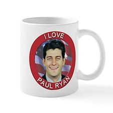 I Love Paul Ryan Small Small Mug