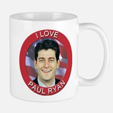 I Love Paul Ryan Small Small Mug
