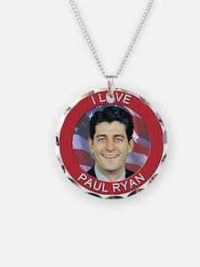 I Love Paul Ryan Necklace