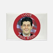 I Love Paul Ryan Rectangle Magnet