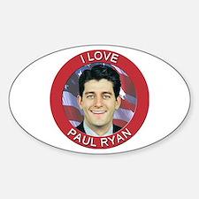 I Love Paul Ryan Decal