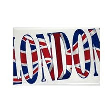 London Rectangle Magnet