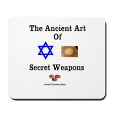 Jewish Martial Arts Mousepad