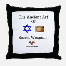 Jewish Martial Arts Throw Pillow
