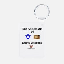 Jewish Martial Arts Keychains