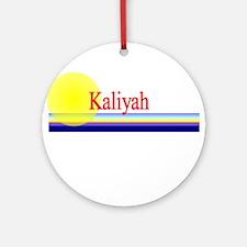 Kaliyah Ornament (Round)