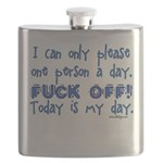 I can only please one person Flask