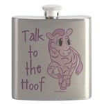 Talk To The Hoof Flask