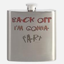 Back off I'm gonna fart! Flask