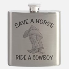 SAVE A HORSE Flask