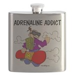 Adrenaline Addict Flask