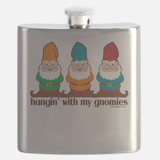 Hangin' With My Gnomies Flask