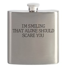 I'm smiling... Flask