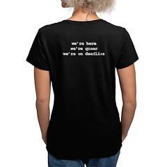 NLGJA Quote, Women's V-Neck T-Shirt