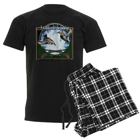 Duck hunter Men's Dark Pajamas