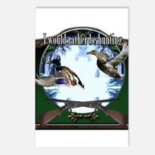 Duck hunter Postcards (Package of 8)