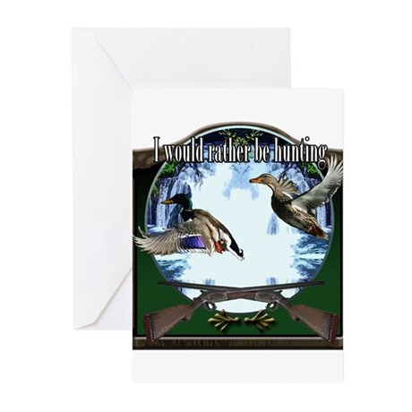 Duck hunter Greeting Cards (Pk of 20)