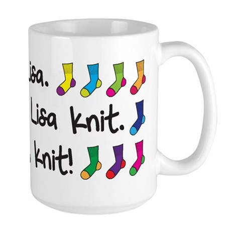 See Lisa Large Mug