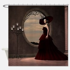 Nobel Lady Shower Curtain
