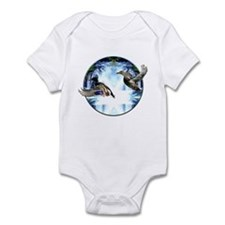 Mallards in flight Infant Bodysuit