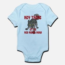 Hey there-Wolf1 Infant Bodysuit