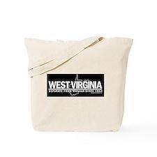 Separate From VA (black) Tote Bag