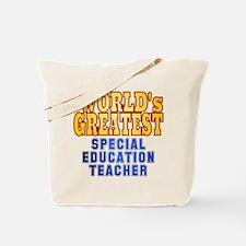 World's Greatest Special Education Teacher Tote Ba