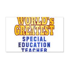 World's Greatest Special Education Teacher Wall Decal