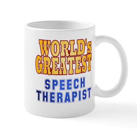 World's Greatest Speech Therapist Mug