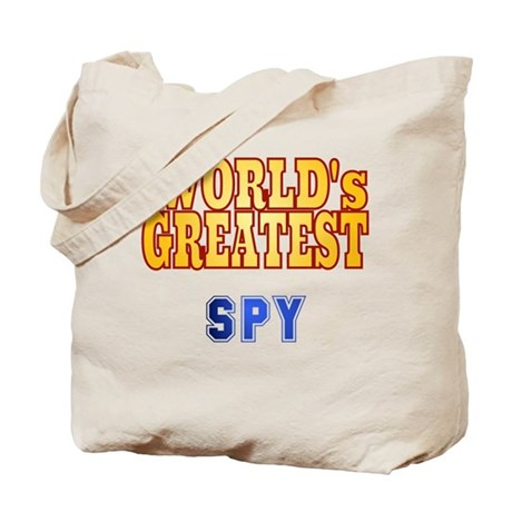 World's Greatest Spy Tote Bag