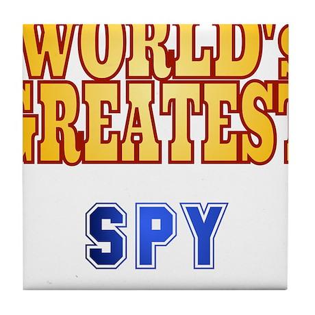 World's Greatest Spy Tile Coaster