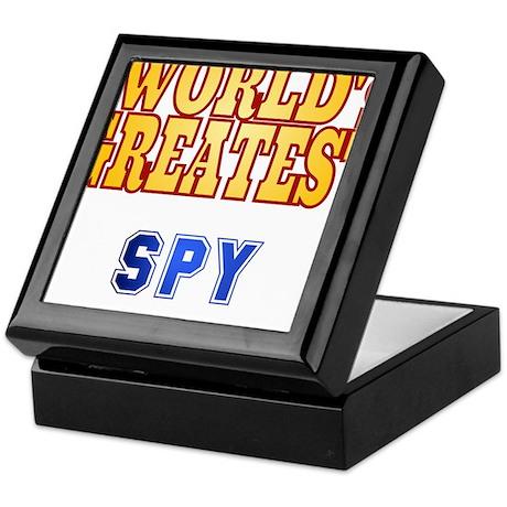 World's Greatest Spy Keepsake Box