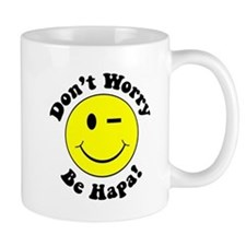 Dont worry Be Hapa! Black Mug