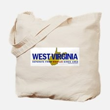 WV: Separate From VA Since 1863 Tote Bag