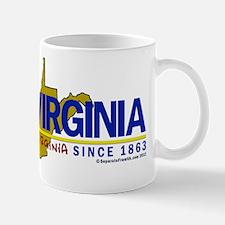 WV: Separate From VA Since 1863 Mug