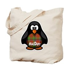 MacDuff Tartan Penguin Tote Bag