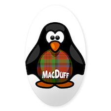 MacDuff Tartan Penguin Decal