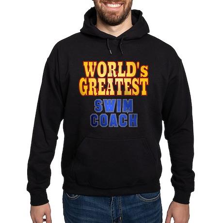 World's Greatest Swim Coach Hoodie (dark)