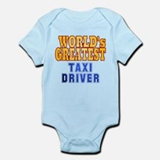 World's Greatest Taxi Driver Infant Bodysuit