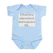 My Wife said Infant Bodysuit